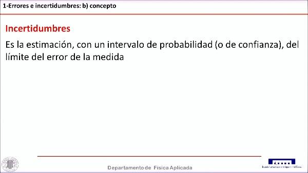 LA VALIDEZ Y PRECISIÓN EN EL ANÁLISIS DE INCERTIDUMBRE EXPERIMENTAL