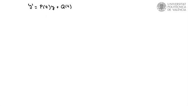 Ecuación diferencial lineal 2