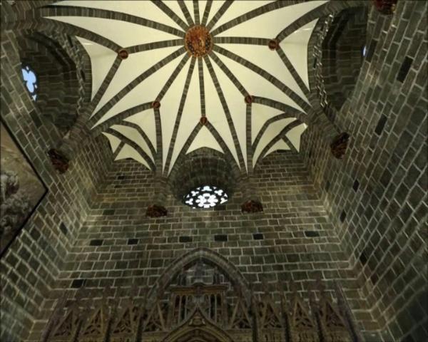 Capilla del Santo Cáliz. Acústica Virtual.