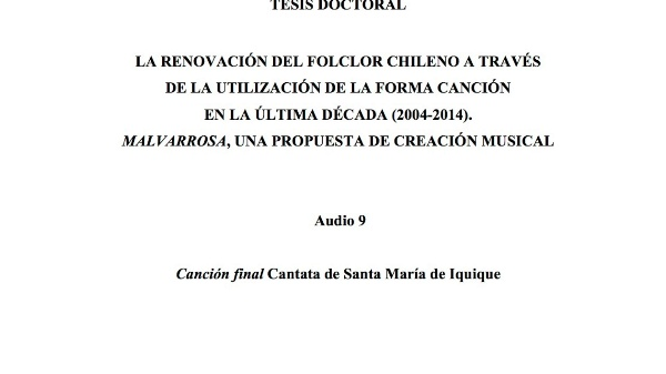 [35] Audio 9 - Canción final Cantata de Santa María de Iquique