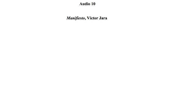 [37] Audio 10 - Manifiesto