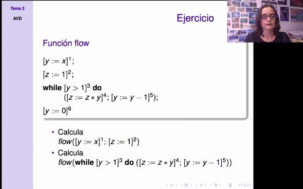 AVD - Análisis estático - funciones flow y flowR