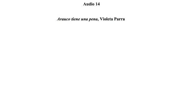 [65] Audio 14 - Arauco tiene una pena