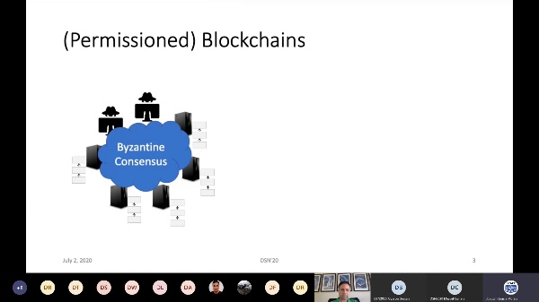 DSN2020 - Research Track - Session 10 - Byzantine to Blockchain