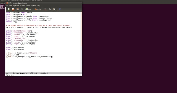 03-Creando un modelo entrenado para dígitos manuscritos