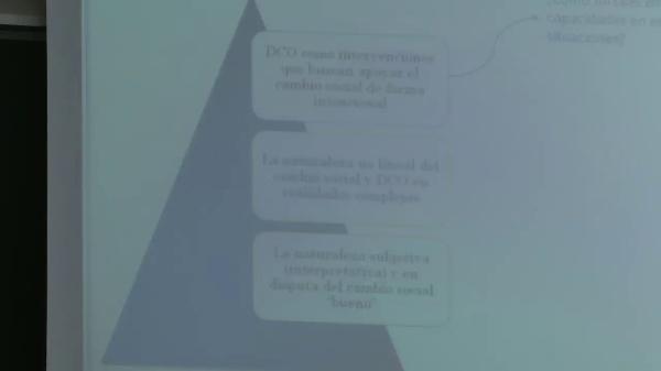 Alfredo Ortiz Aragon - Fortalecimiento de capacidades y monitoreo de proyectos en situaciones complejas de cambio social - parte 2 de 3