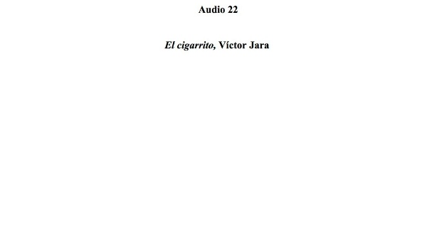 [83] Audio 22 - El cigarrito