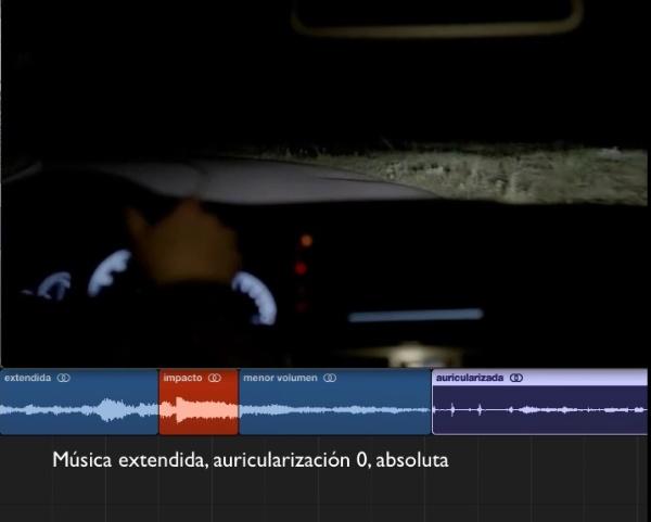 música extendida a filtrada