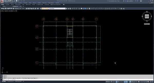 Angle - Tutorial 02. Modelado edificio pórticos de hormigón (1/4) Forjados unidireccionales y acciones.