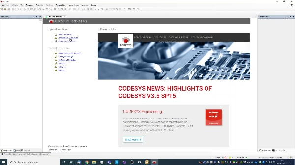 Configuración de CODESYS, Factory I/O y ejemplo de comunicación