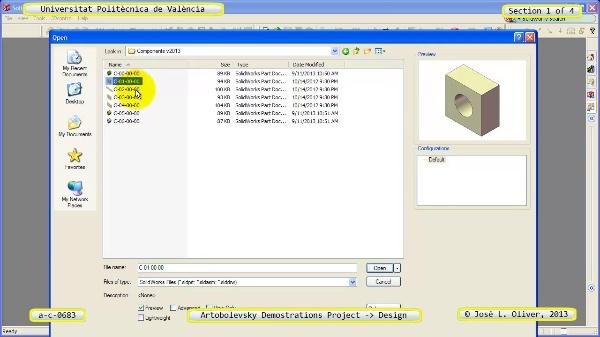 Creación Virtual Mecanismo a_c_0683 con Solidworks ¿ 1 de 4