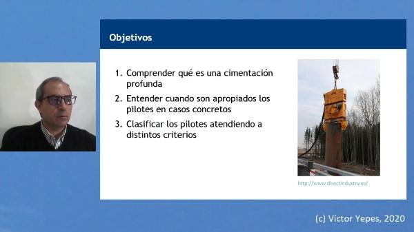 Concepto y clasificación de pilotes