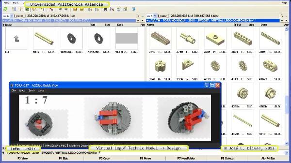 Creación Virtual Modelo Lego Technic - Isogawa - T-0037 ¿ no audio