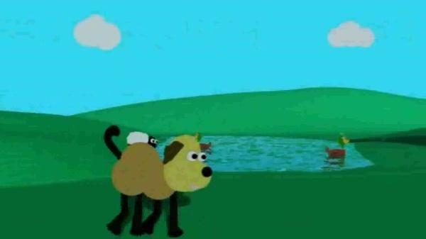 El perro y las ovejas