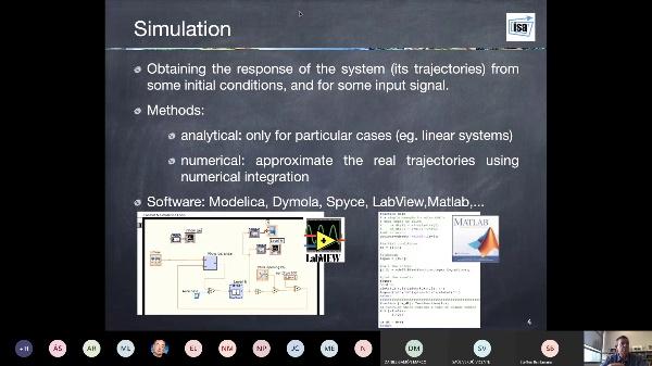 Lecture 4. SAU-GITI-II, 2020. Simulation of dynamical systems