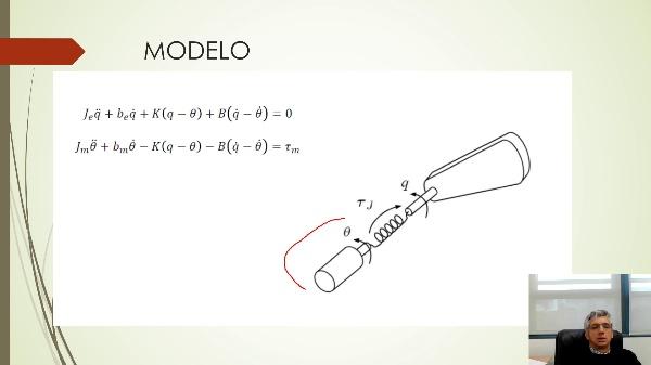 Modelado de una articulación elástica