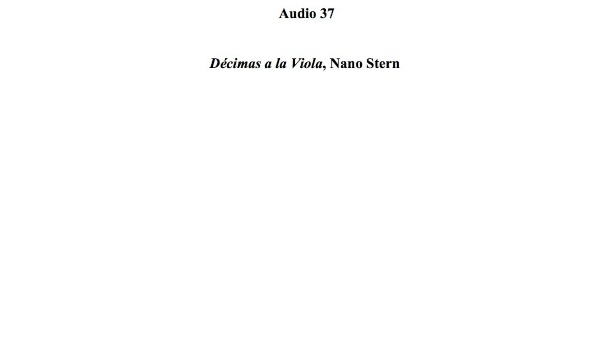 [140] Audio 36 - Décimas a la Viola