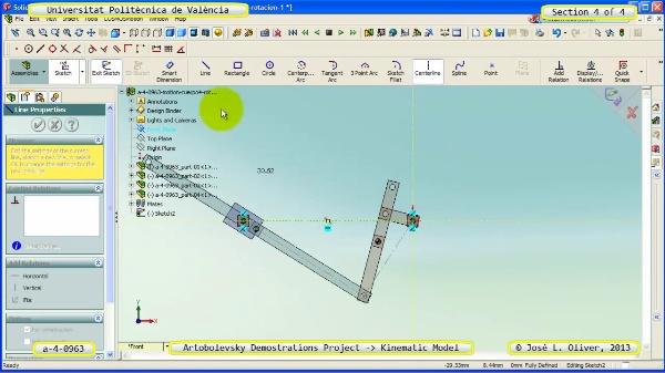 Simulación Mecanismo a_4_0963 con Cosmos Motion - 4 de 4
