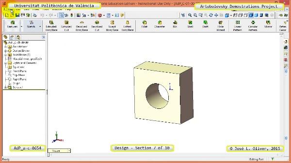 Creación Virtual Mecanismo a-c-0654 con Solidworks - 07 de 10