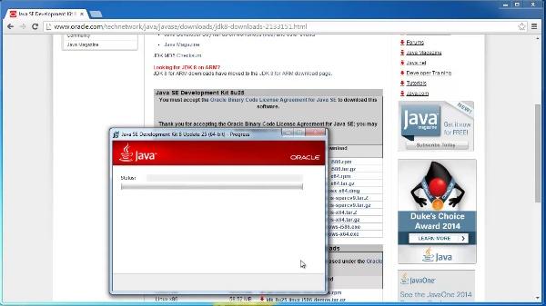 Instalación de Java 8, Eclipse y Scene Builder