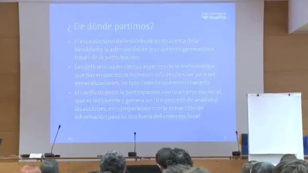 Carlos Barahona - Combinando cuantitativa y cualitativa en la elaboración de estadísticas participativas - parte 2 de 3
