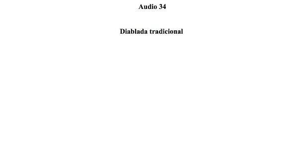 [136] Audio 33 - Diablada tradicional
