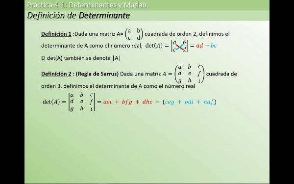MATE1-4-01a def determinante
