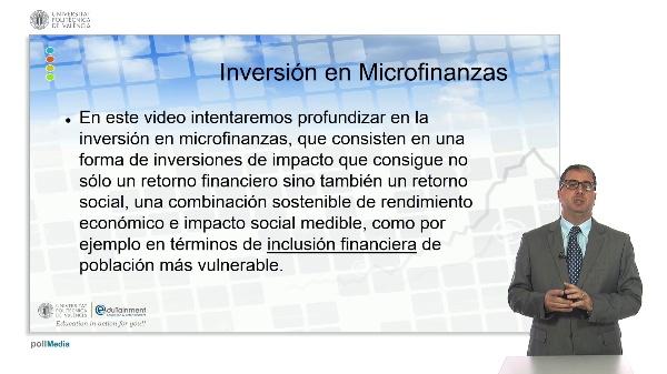 Inversión en Microfinanzas