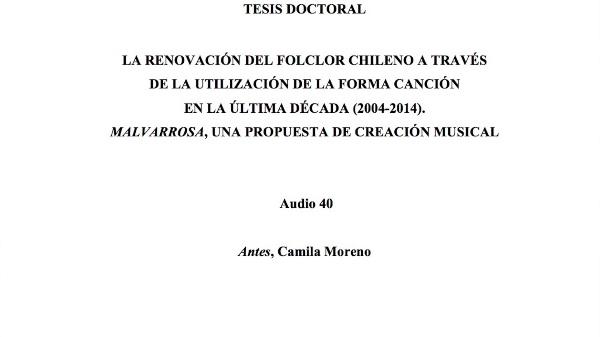 [145] Audio 39 - Antes