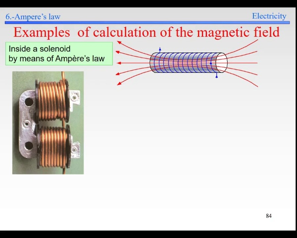 Elec-4-Magnetic Field-S84-Ampere solenoid