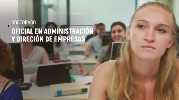 Spot Facultad de ADE - UPV