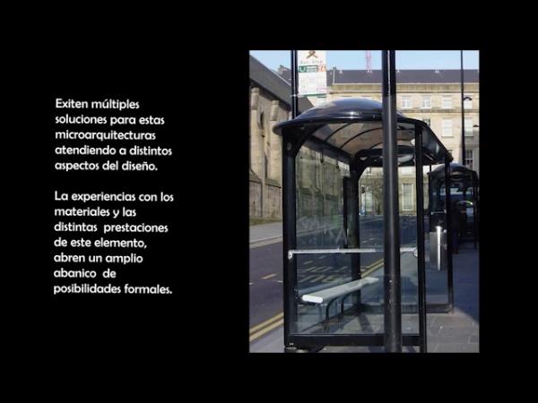 The BUS Stop. Diseño de Elementos de Uso Público: Marquesinas de autobús