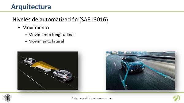Arquitectura de vehículos autónomos y conectados
