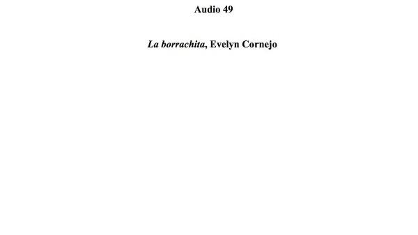 [156] Audio 48 - La borrachita