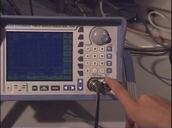 Analizador de Espectros R&S FS315