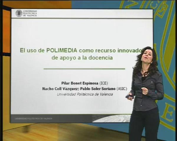 Presentación taller POLIMEDIA 2009