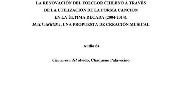 [202] Audio 63 - Chacarera del olvido