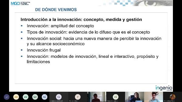 Sistemas de Innovación. Prof. Jon Mikel Zabala