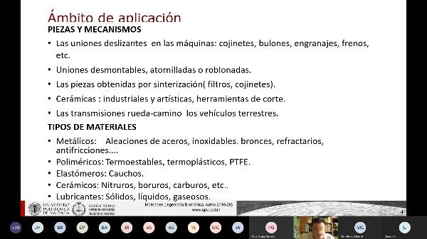 Clase de Materiales: Fricción I
