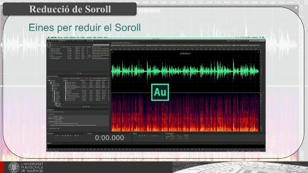 Reducció de Sorolls Discontinus en Registres Sonors