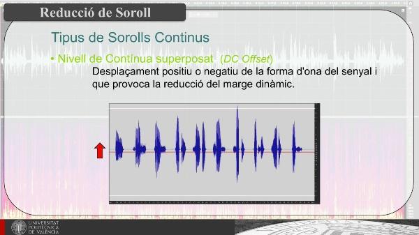 Reducció de Sorolls Continus en Registres Sonors