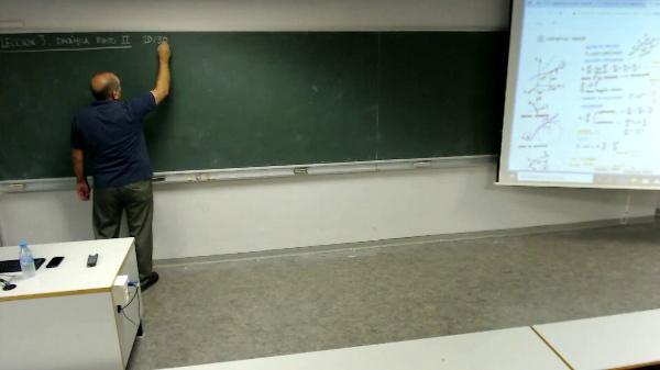 Física 1. Lección 3. Dinámica del punto 3D. Posición