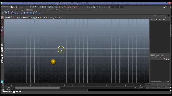 Animando una pelota pesada con Maya Autodesk