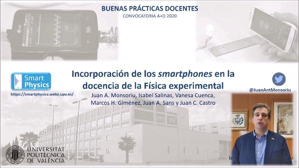 Incorporación de los smartphones en la docencia de la Física experimental