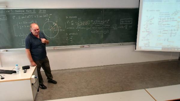 Física 1. Lección 3. Movimiento circular uniforme, aceleración