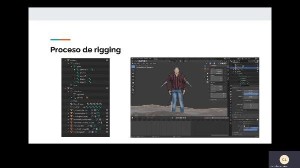 Presentación animación de un objeto articulado con Blender
