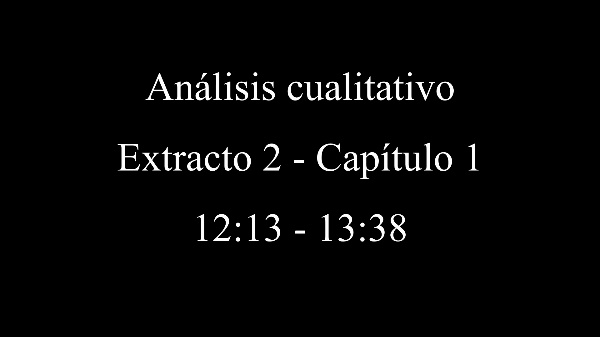 Análisis cualitativo - Extracto 2