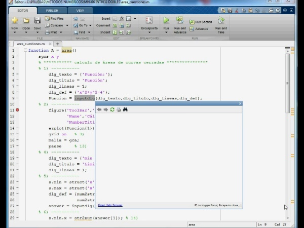 06-IN-DO-09 Integrales Dobles con Matlab