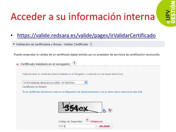 ¿Cómo verificar que mi certificado electrónico funciona?
