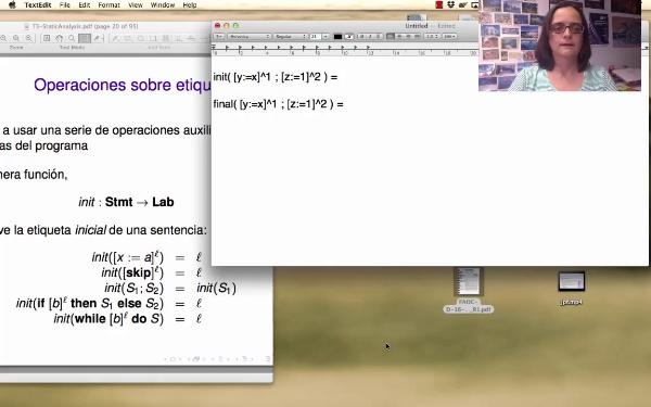 AVD - Análisis estático - Ejemplo con las funciones init y final